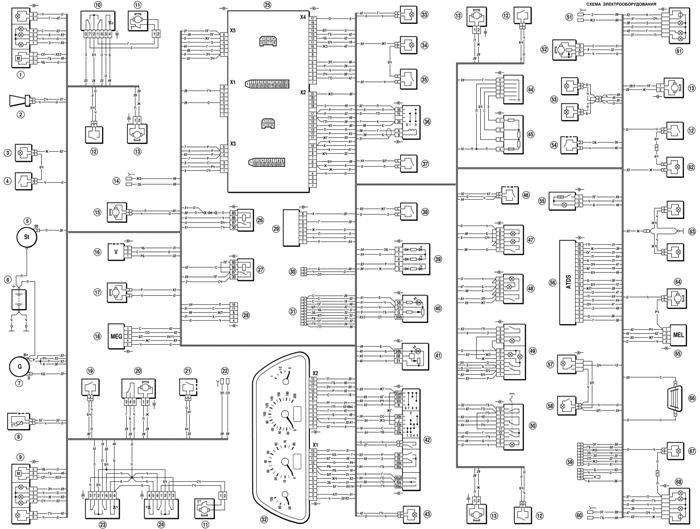 Проводка на Chevrolet Niva: ее неисправности, замена и схема электрооборудования