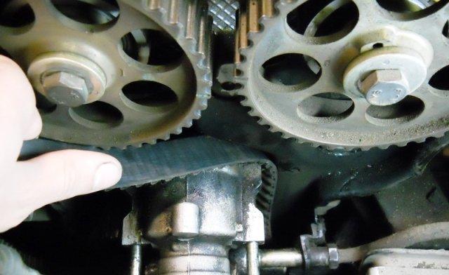 Ручная замена ремня ГРМ Chevrolet Lanos6 пошаговая инструкция с фото