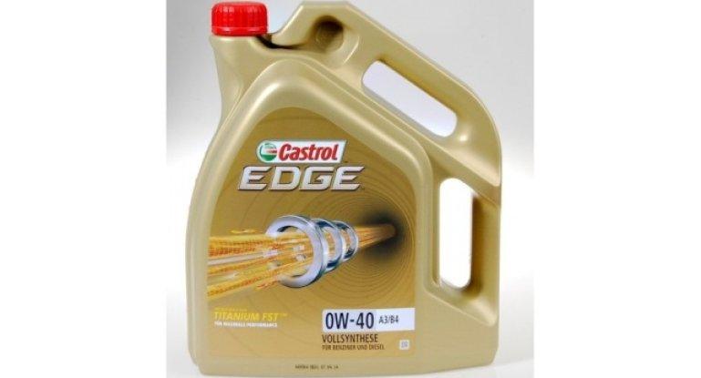 Все о моторном масле марки Castrol Edge 0w-40: особенности, фото и видео