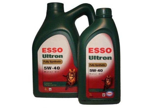 Обзор характеристик моторного масла ESSO Ultron 5W-40: фото и видео