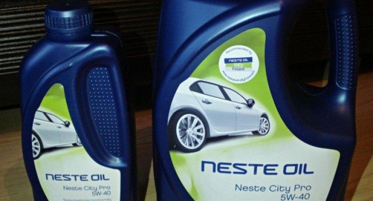 Все о моторном масле марки Neste City Pro 5W-40: фото и отзывы о нем
