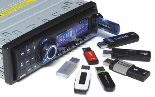 Выбор флешки для автомагнитолы (формат и другие критерии), переделка прибора под USB