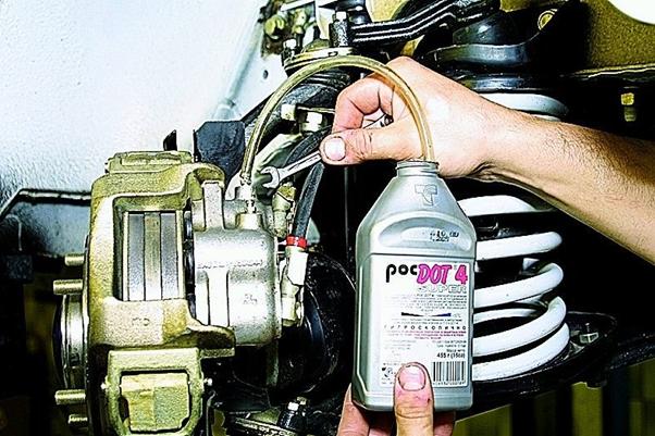 Ремонт тормозов на автомобилях ВАЗ