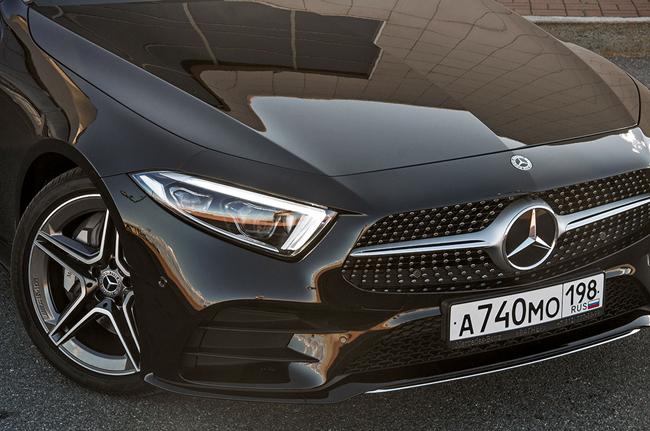 Тест-драйв Mercedes-Benz CLS-Class 2018