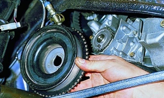 Самостоятельно меняем ремень ГРМ на ВАЗ 2108 в гаражных условиях