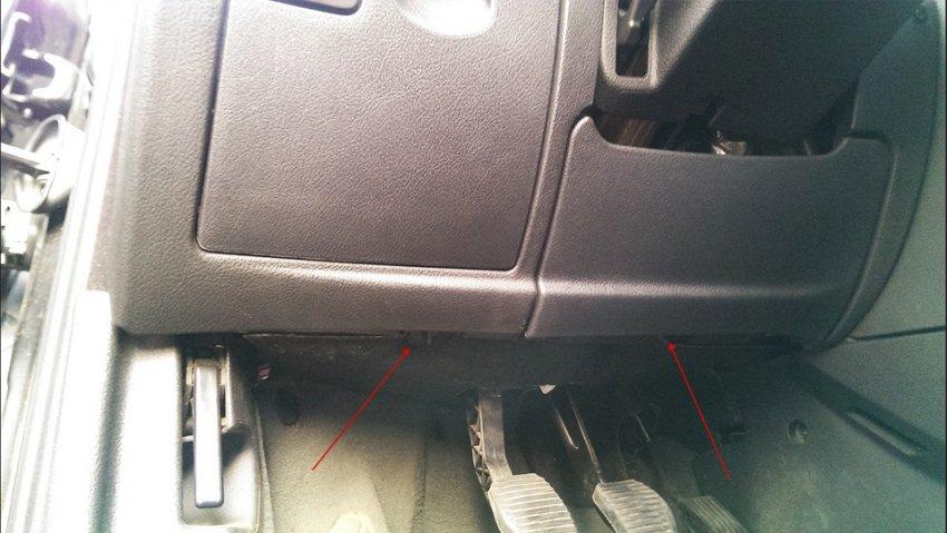 Самостоятельная замена салонного фильтра на Peugeot 407