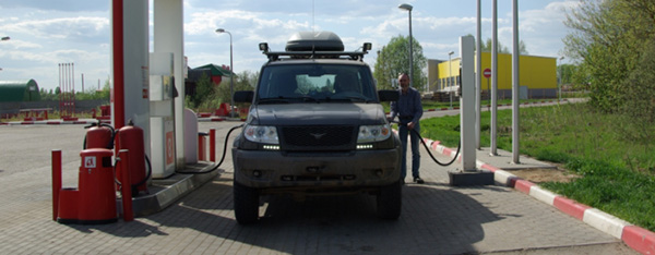 Расход топлива УАЗ патриот на 100 км ( 2.7 бензин на 100 км)