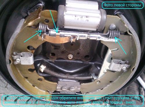 Замена задних колодок на Форд Фокус 2: подробная инструкция