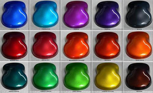 Как подобрать краску для автомобиля по цвету самостоятельно