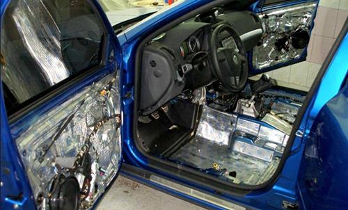Правильная шумоизоляция автомобиля своими руками
