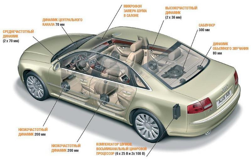Виды динамиков и колонок в машину: автомобильные компонентные, задние, овальные, передние и иные