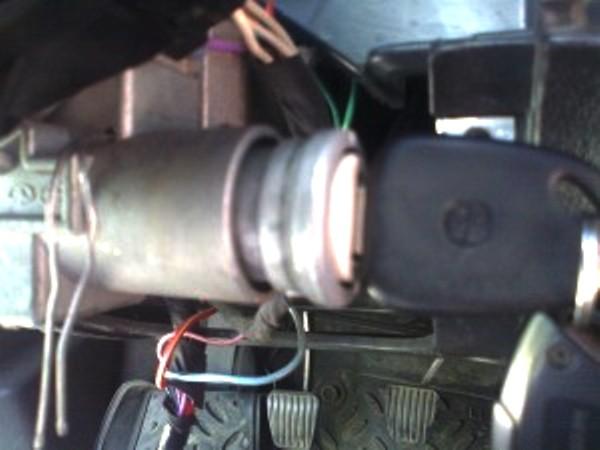 Замена и ремонт замка зажигания (контактной группы и личинки) Daewoo Nexia и Matiz: видео