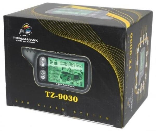 Инструкция по эксплуатации сигнализации Tomahawk (Томагавк) 9010, 9020 и 9030 с автозапуском