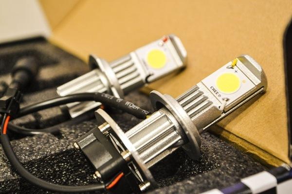 Диодные лампы H7 в ближний свет с эффектом ксенона для автомобиля: отзывы, какая лампочка лучшая