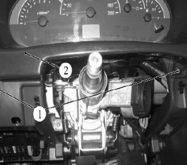 Комбинация и обозначение значков на панели приборов Приора: как снять щиток, тюнинг и распиновка