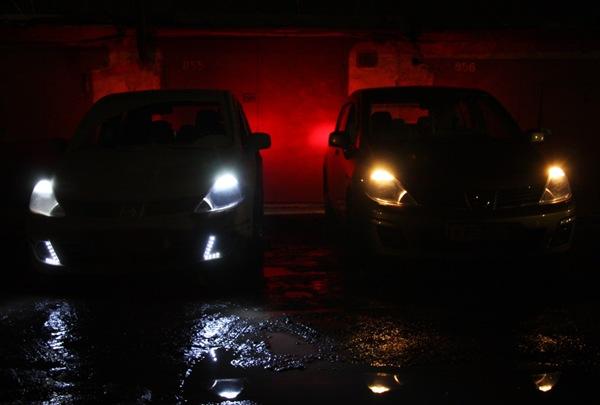 Светодиодные фары для автомобиля на крышу своими руками: ремонт диодной балки дальнего света