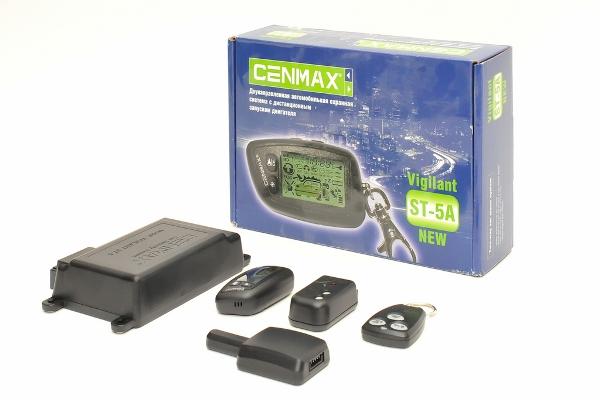Инструкция к сигнализации Cenmax (Сенмакс) с автозапуском: схема подключения и отзывы пользователей