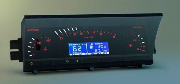 Описание и обозначения панели приборов ВАЗ 2109 и 21099 инжектор, установка приборной европанели