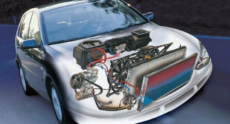 Схема и принцип работы кондиционера в автомобиле: как работает устройство и система кондиционирования