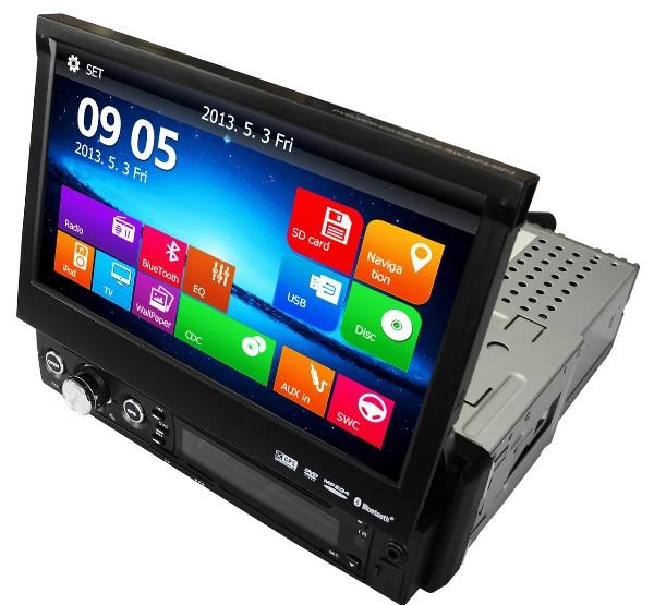 Рейтинг и установка 1 DIN автомагнитол: с переходной рамкой, выдвижным экраном и навигацией
