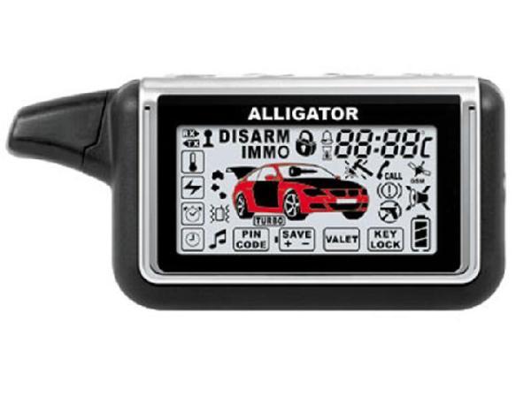 Сигнализация Alligator (Аллигатор) - инструкция и схема подключения, как узнать модель по брелоку