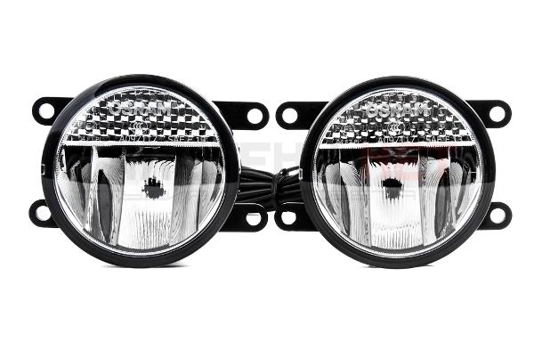 Фото и установка противотуманных фар: выбор стекла, правила ПДД, какие фонари лучше светят