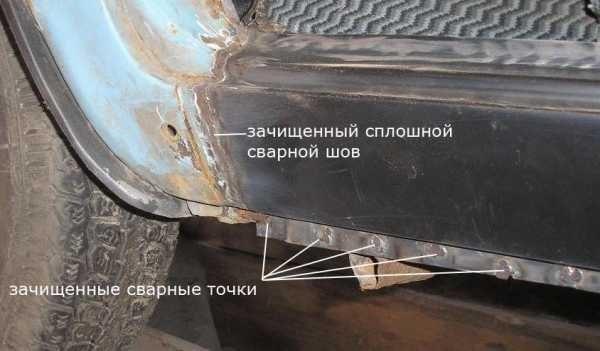 Кузовной ремонт ВАЗ 2106 своими руками