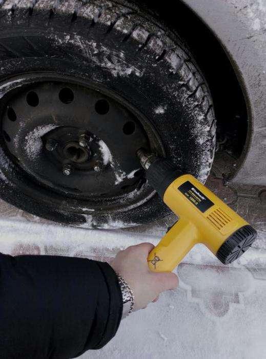 Что делать, если замерзли колодки ручника?