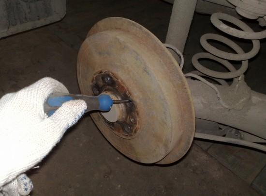 Замена барабанных тормозов Skoda Оctavia Tour на дисковые своими руками