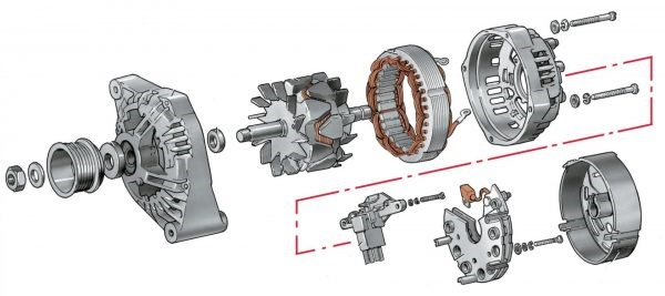 Самостоятельная диагностика неисправностей и ремонт генератора ВАЗ 2101