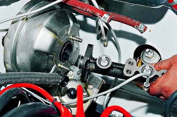 Самостоятельный ремонт тормозной системы ВАЗ 2109