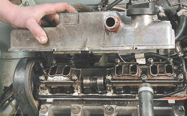 Как заменить прокладку ГБЦ на ВАЗ 2114