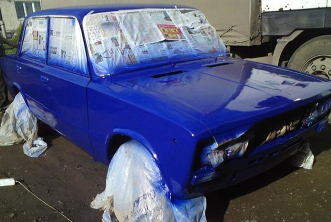 Как самостоятельно выполнить кузовной ремонт ВАЗ 2107