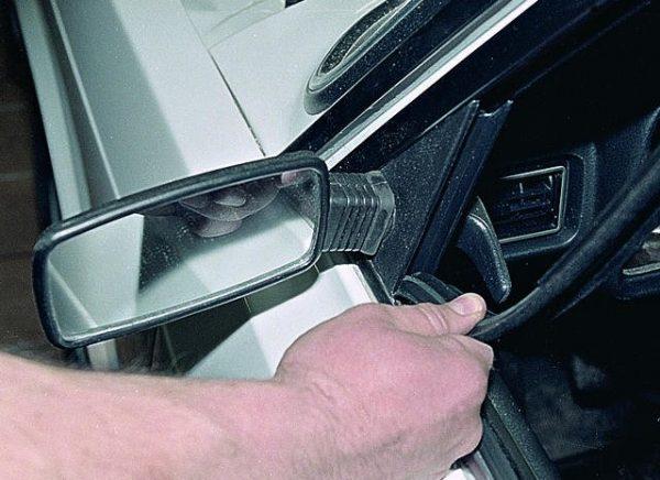 Самостоятельная доработка и замена зеркал заднего вида ВАЗ 2107
