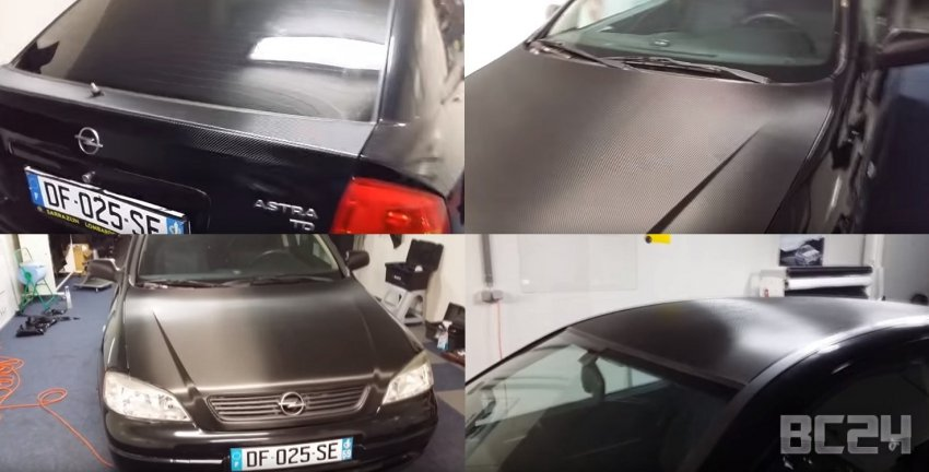 Как наклеить виниловую пленку для авто своими руками (оклейка автомобиля винилом)