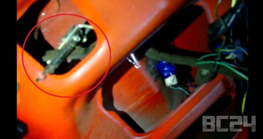 Установка кнопки открывания багажника