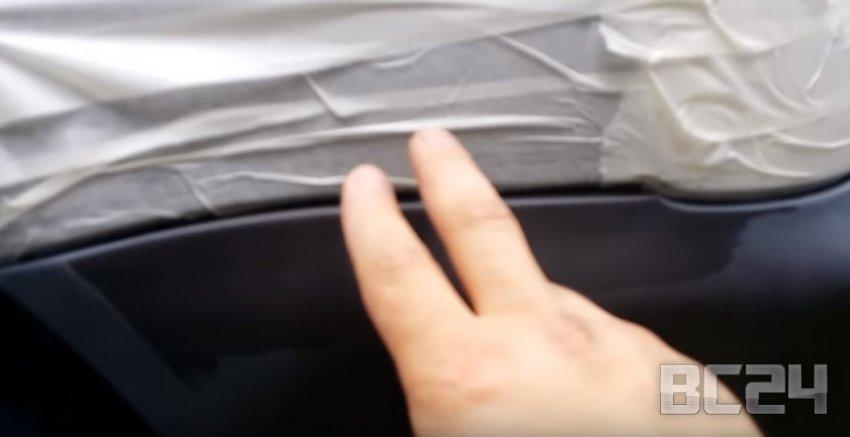 Как покрасить бампер баллончиком своими руками с видео