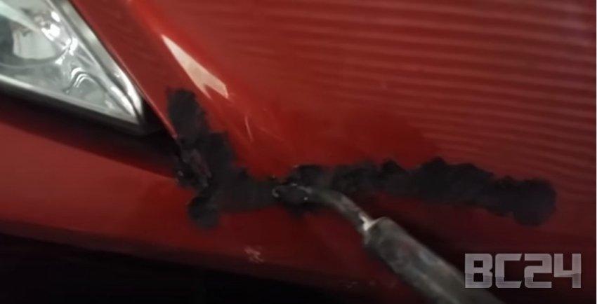 Как отремонтировать треснувший бампер своими руками с видео