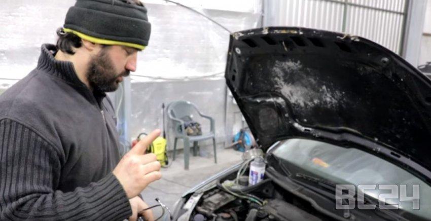 Как промыть форсунки своими руками - LAVR ML 102 и видео