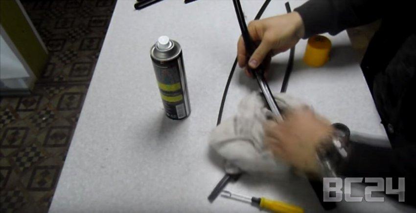 Замена щеток и резинок стеклоочистителя