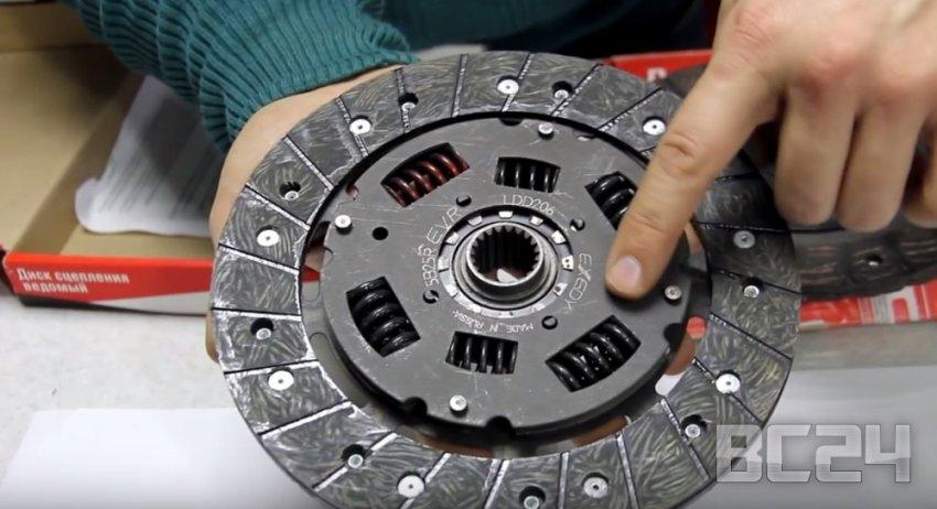 Подделка диски сцепления ВИС (VIS) - как отличить?