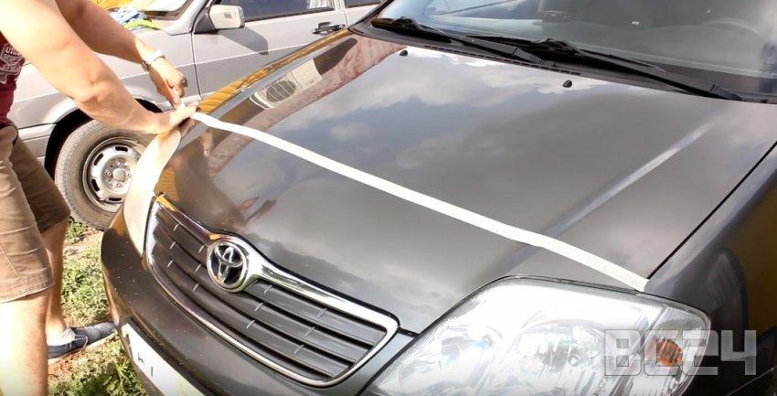 Покраска авто жидкой резиной своими руками