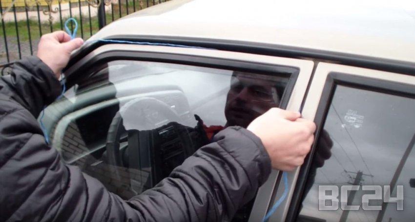 Как открыть ваз без ключа. Как открыть дверь авто без ключа