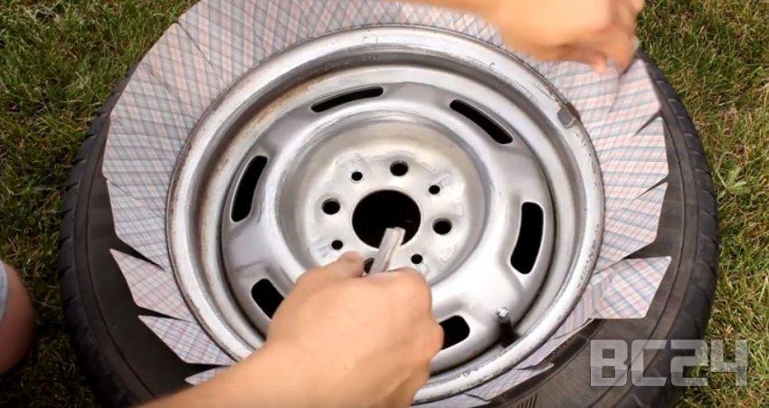 Покраска дисков автомобиля своими руками с фото и видео