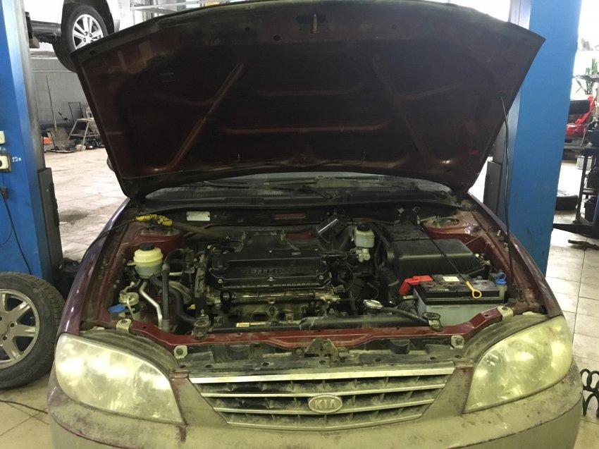 Обслуживание бензонасоса Kia Spectra собственными силами в условиях гаража